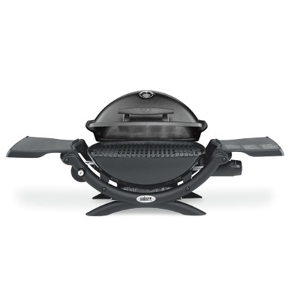 Picture of Weber Q® 1200™ LP Gas Grill w/ Portable Cart - Black