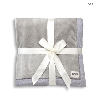 Picture of UGG® Duffield Throw - Seal Heather