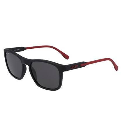 Picture of Lacoste Men's Sunglasses - Matte Black/Red