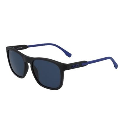 Picture of Lacoste Men's Sunglasses - Matte Black/Blue