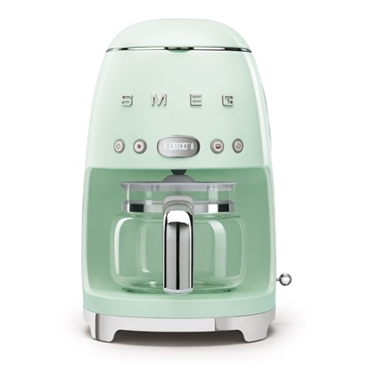 Picture of SMEG Retro Drip Coffee Machine - Green Pastel