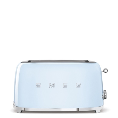 Picture of SMEG Retro 4-Slice Toaster - Pastel Blue