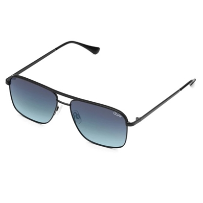 Picture of Quay Men's POSTER BOY - Black with Teal Fade Lens