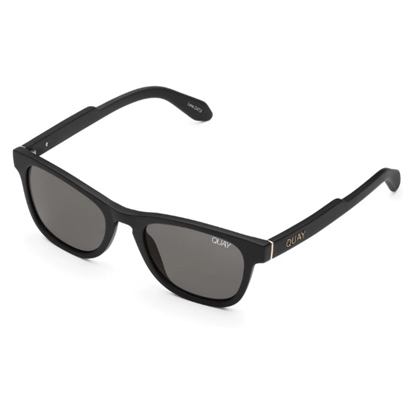 Picture of Quay HARDWIRE MINI - Matte Black with Smoke Lens