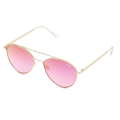Picture of Quay DRAGON FLY - Matte Gold with Pink Mirror Lens