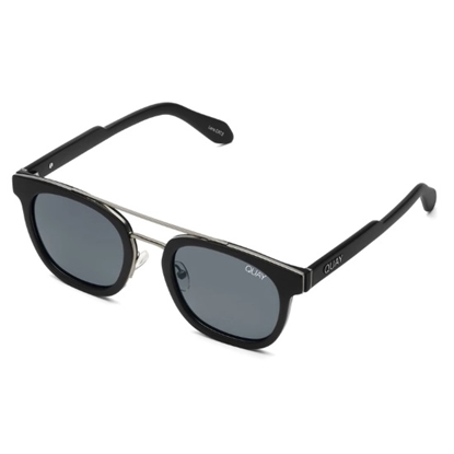 Picture of Quay Men's COOLIN - Matte Black with Smoke Lens