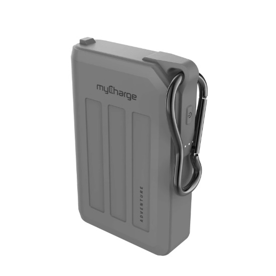 Picture of myCharge® Adventure H20 Max 10,050mAh Charger - Gray