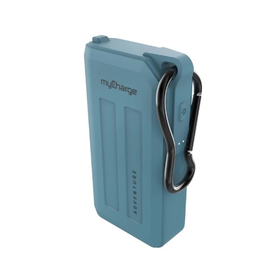 Picture of myCharge® Adventure H20 Plus 6,700mAh Charger - Blue