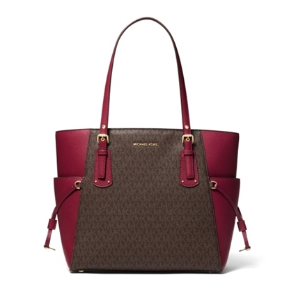 Picture of Michael Kors Voyager E/W Tote - Berry