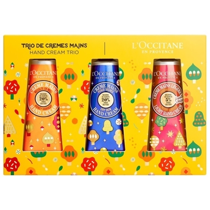 Picture of L'Occitane Hand Cream Indulgences Trio