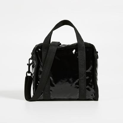 Picture of LeSportsac Gabrielle Small Box Crossbody - Black Patent