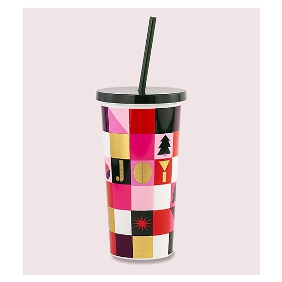 Picture of Kate Spade Set of 2 Tumblers - Joy