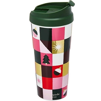 Picture of Kate Spade Set of 2 Thermal Mugs - Joy