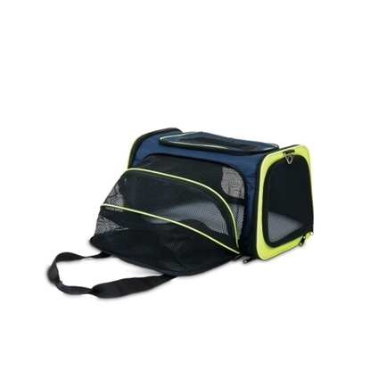 Picture of Gen7Pets Petmate See & Extend Carrier - Black/Gray