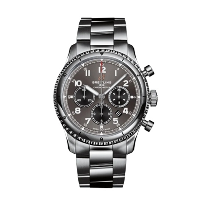 Picture of Breitling Aviator 8 B01 Chrono 43 - Steel with Anthracite Dial