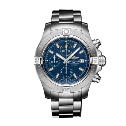 Picture of Breitling Avenger Chrono 45 - Stainless Steel with Blue Dial
