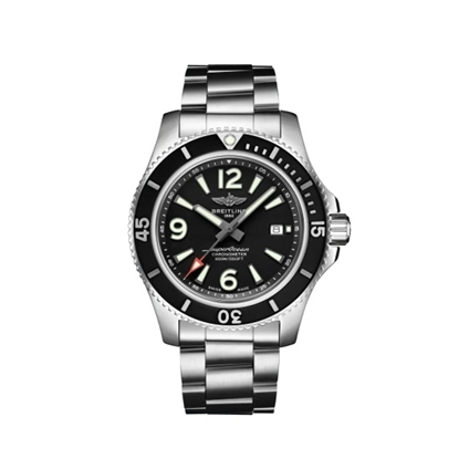 Picture of Breitling Superocean Auto 44 - Stainless Steel with Black Dial