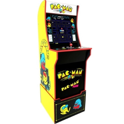 Picture of Arcade1Up Pac-Man Arcade Cabinet with Riser
