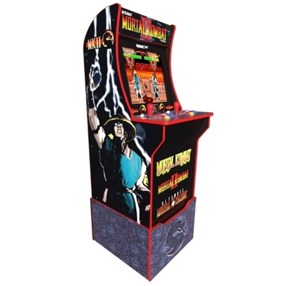Picture of Arcade1Up Mortal Kombat Arcade Cabinet with Riser