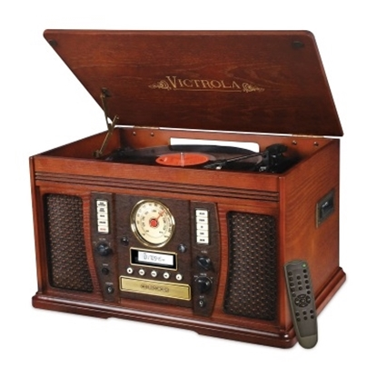 Picture of Victrola™ 7-in-1 Classic Wood Three-Speed Turntable