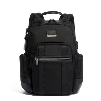 Picture of Tumi Alpha Bravo Nathan Expandable Backpack - Black