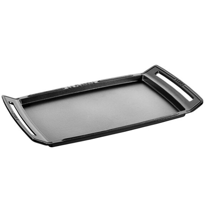 Picture of Staub 18.5'' X 9.8'' Double Burner Griddle