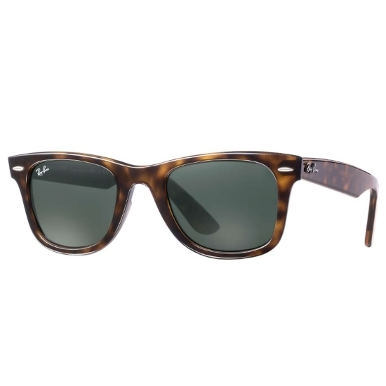 Picture of Ray-Ban® Wayfarer Ease - Tortoise with Green Classic Lens