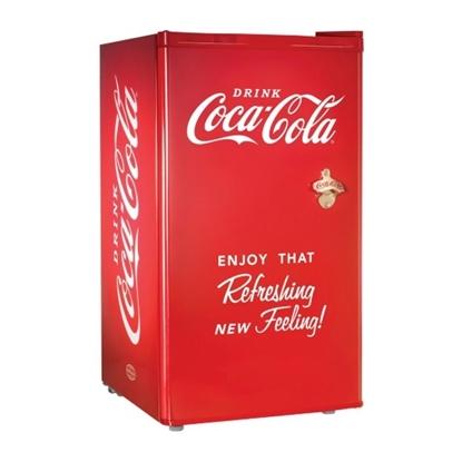 Picture of Nostalgia Electrics Cube Refrigerator 3.2 Cu. Ft. - Coke