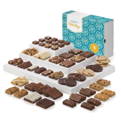 Picture of Fairytale Brownies® Giant Holiday Combo - 64 Pieces
