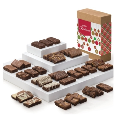 Picture of Fairytale Brownies® Christmas Sprites - 36 Brownies