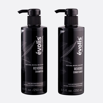 Picture of evolis® Reverse Shampoo & Conditioner Bundle