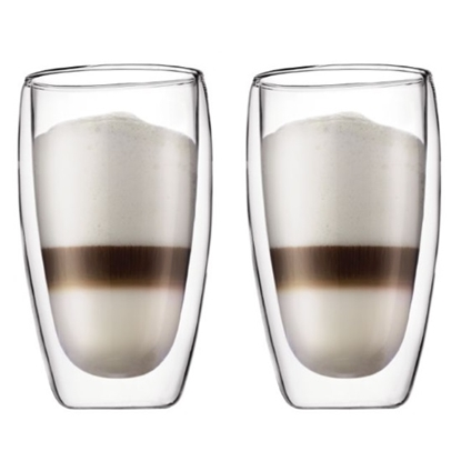 Picture of Bodum 15oz. Pavina Double Wall Glasses - Set of 2