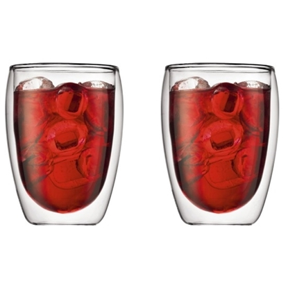 Picture of Bodum 12oz. Pavina Double Wall Glasses - Set of 2