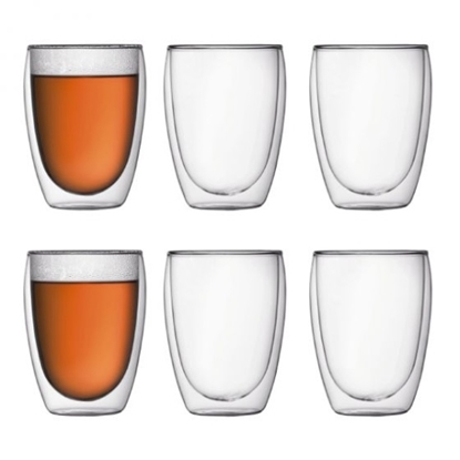 Picture of Bodum 12oz. Pavina Double Wall Glasses - Set of 6