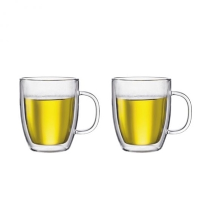 Picture of Bodum Bistro 15oz. Double Wall Jumbo Mugs - Set of 2
