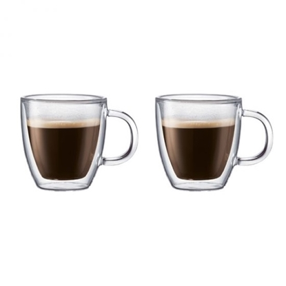 Picture of Bodum Bistro 10oz. Double Wall Glasses - Set of 2