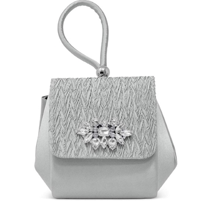 Picture of Jessica McClintock Honey Top Handle Clasp Clutch