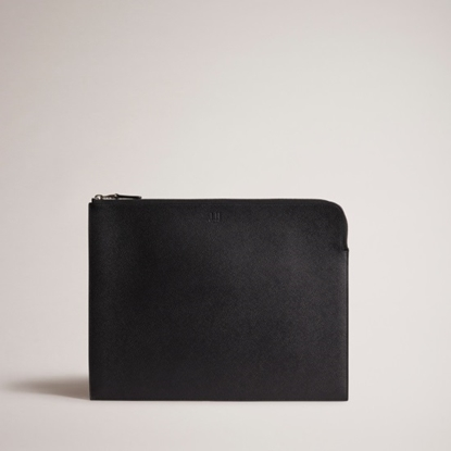 Picture of Dunhill Cadogan Large Zip Folio