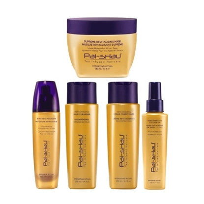 Picture of Pai-Shau Complete Signature Tea Complex Haircare Set