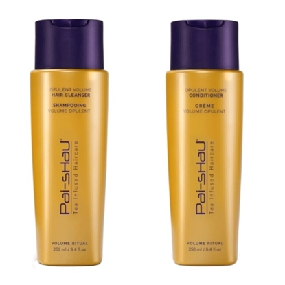 Picture of Pai-Shau Opulent Volume Hair Cleanser & Conditioner - 250mL