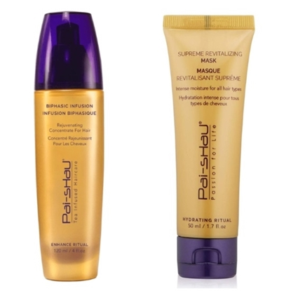 Picture of Pai-Shau Biphasic Infusion & Supreme Revitalizing Mask
