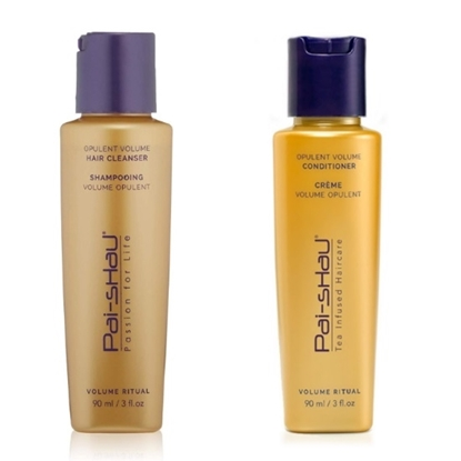 Picture of Pai-Shau Opulent Volume Hair Cleanser & Conditioner- 90ml Each