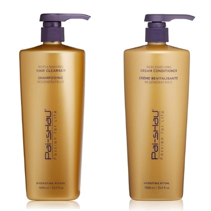 Picture of Pai-Shau 1L Replenishing Hair Cleanser & 1L Cream Conditioner