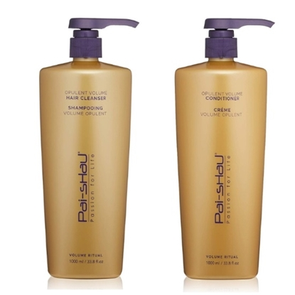 Picture of Pai-Shau Volume Hair Cleanser and Cream Conditioner - 1L Each