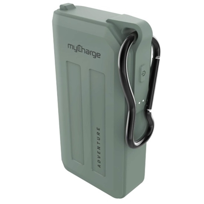 Picture of myCharge® Adventure H20 Plus 6,700mAh Charger - Green