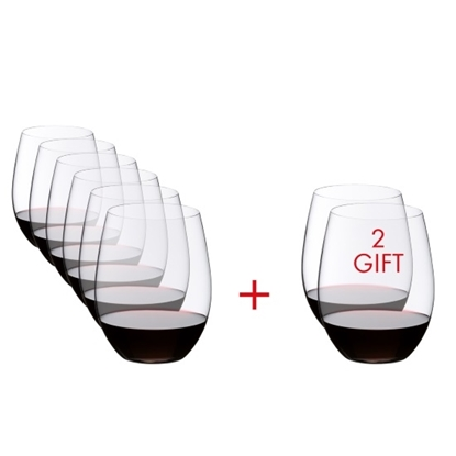Picture of Riedel O Cabernet/Merlot Glasses - Set of 8