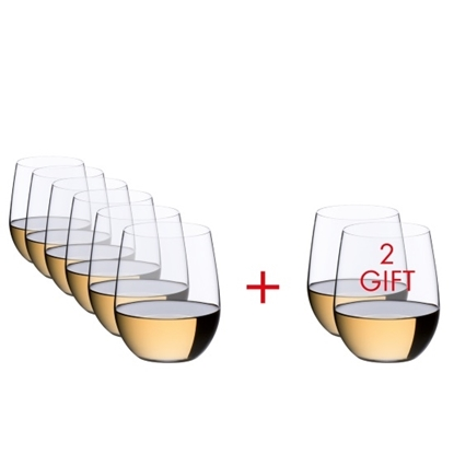 Picture of Riedel O Viognier/Chardonnay Glasses - Set of 8