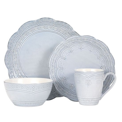 Picture of Pfaltzgraff Serephina 16-Piece Stoneware Place Setting