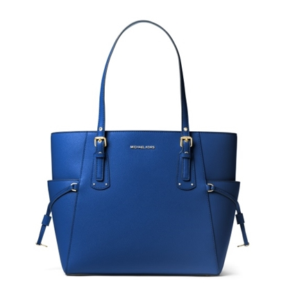 Picture of Michael Kors Voyager E/W Tote - Vintage Blue