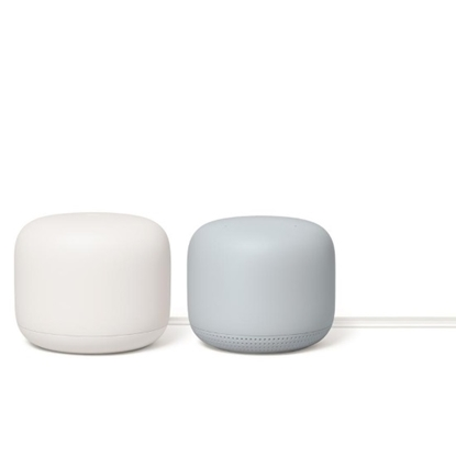 Picture of Google Nest Wi-Fi Router (Snow) & Point